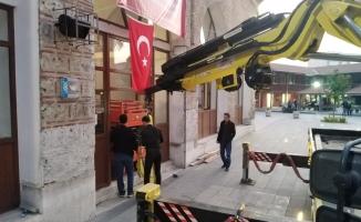 Tarihi İshakpaşa Camisi Cuma İbadete Açılıyor