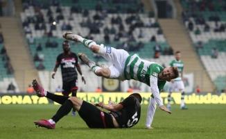 TFF 1. Lig: Bursaspor: 0 - Balıkesirspor: 0