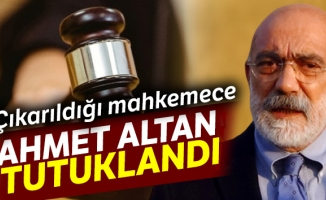 Yeniden gözaltına alınan Ahmet Altan tutuklandı