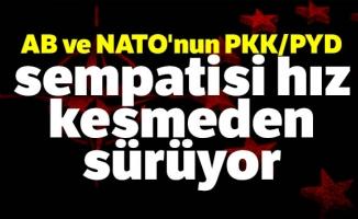 AB ve NATO'nun PKK/PYD sempatisi hız kesmeden sürüyor