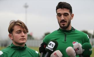 """Ali Akman:""""Bursaspor'da iyi işler yaparak Avrupa'ya gitmek istiyorum"""""""