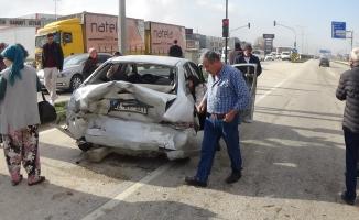 Bursa-Ankara yolunda zincirleme kaza: 3 yaralı