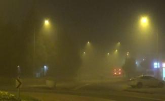 İnegöl güne sisli bir havayla başladı