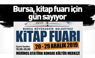 Bursa, kitap fuarı için gün sayıyor