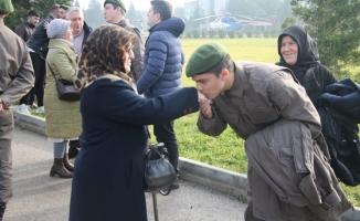 Bursa'da bedelli askerler yemin etti