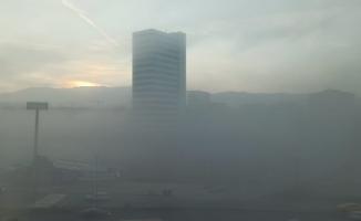 Bursa'da yoğun sis etkili oldu