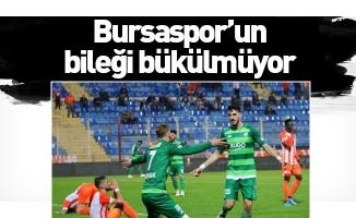 Bursaspor'un bileği bükülmüyor
