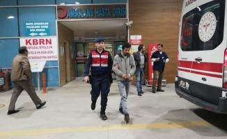Camiden para çalan şahıs tutuklandı