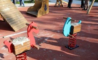 Çocukların mutluluğuna beton döktüler