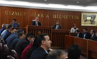 İnegöl Belediyesi Aralık ayı meclis toplantısı yapıldı