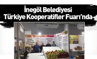 İnegöl Belediyesi Türkiye Kooperatifler Fuarı'nda