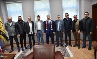 İnegölspor'dan Başkan Aktaş'a ziyaret