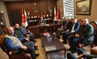 İnegölspor'dan Başsavcı İnanç'a Ziyaret