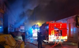 Mobilya Sanayii'nde Korkutan Yangın
