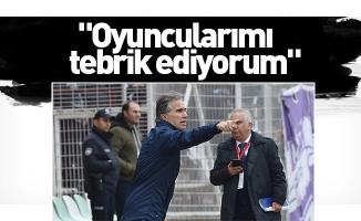 """Murat Yoldaş: """"Oyuncularımı tebrik ediyorum"""""""