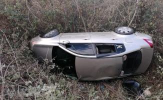 Otomobil uçuruma uçtu: 3 yaralı