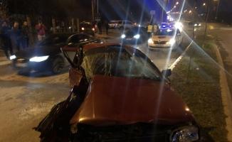 (Özel) Kuzey Makedonya'da yaralanan Arnavut güvenlik görevlisi ve kızı için Türkiye seferber oldu