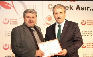 Salih Uçak BBP Bursa İl Başkanlığı adaylığını açıkladı