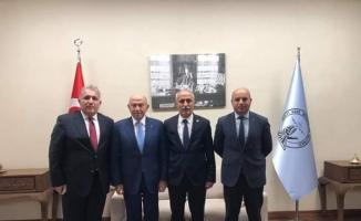 Türkiye Futbol Federasyonu Başkanı Özdemir Yenişehir'de