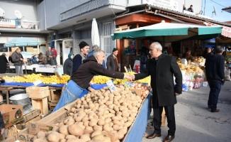 Yenişehir modern pazar yerine kavuşuyor