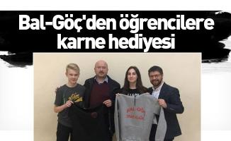 Bal-Göç'den öğrencilere karne hediyesi