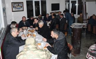 Bereket Sofrası Boğazköy Camiinde Kuruldu