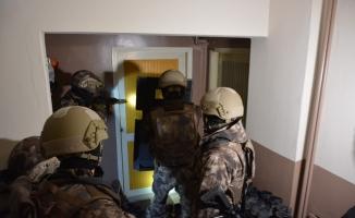 Bursa'da şafak vakti dev uyuşturucu operasyonu...