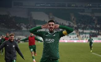 Bursaspor'dan 15 puanlık galibiyet