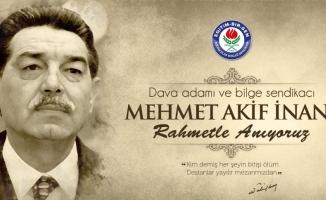 Eğitim Bir Sen Kurucu Genel Başkanı Mehmet Akif İnan'ı andı