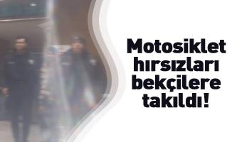 İnegöl'de motosiklet hırsızları mahalle bekçilerine takıldı