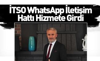 İTSO WhatsApp İletişim Hattı Hizmete Girdi