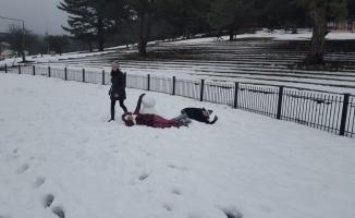Kocayayla kar tatilcilerini bekliyor