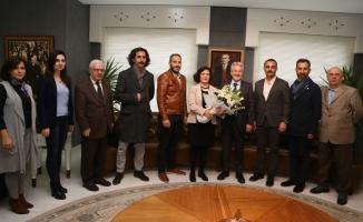 Mimarlardan Başkan Erdem'e ziyaret
