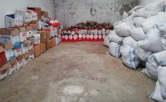 Mustafakemalpaşa'da kaçak tütün ürünleri satışı yapan iş yerlerine baskın