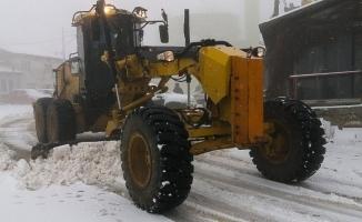 Nilüfer'de karla mücadele