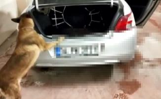 Otomobilden 16 kilo uyuşturucu çıktı