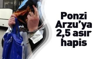 Ponzi Arzu'ya 2,5 asır hapis