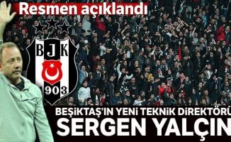 Sergen Yalçın resmen Beşiktaş'ta