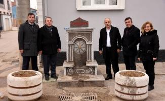 Yenişehir'de 6 sokak çeşmesi hizmete açıldı
