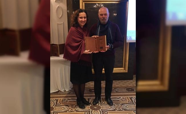 'Yılın telif polisiye kitabı' ödülü BGC üyesi Cenk Çalışır'ın