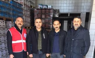 Zeytin esnafı Elazığ depremi için çalışıyor