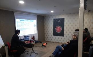 Amatör telsizciler eğitim seminerinde buluştu