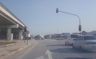Avarlarda yeni trafik ışıkları hizmete girdi