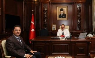 Başağmez'den Bursa Valisi Canbolat'a veda
