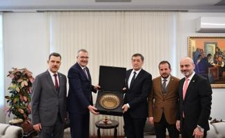 Başkan Özkan'dan Ankara'da yoğun mesai