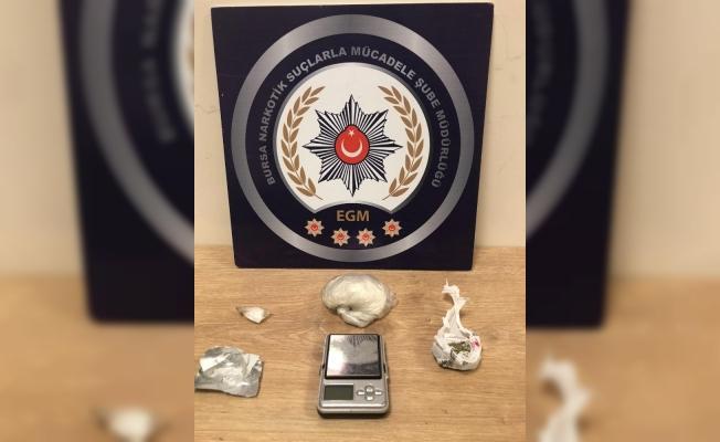 Bursa'da uyuşturucu operasyonu: 18 gözaltı