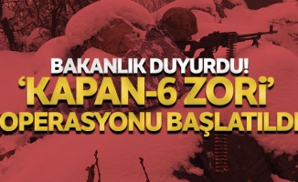 İçişleri Bakanlığınca Diyarbakır-Batman illeri ara hattında Kapan-6 Zori Operasyonu başlatıldı