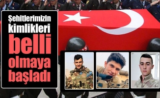 İdlib'de şehit olan askerlerin kimlikleri belli oluyor