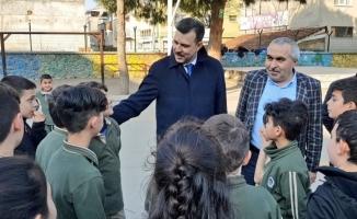 """Mustafa Esgin: """"Çocuklarımızın eğitimi ve güvenliği önceliğimiz"""""""