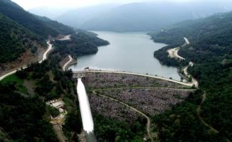 Nilüfer Barajı su tutmaya başladı